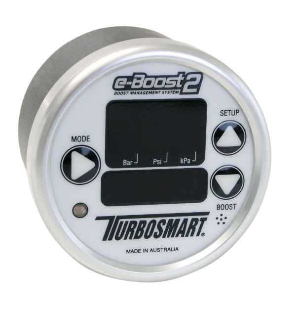 EBoost2 60mm Boost Controller (White-Silver)