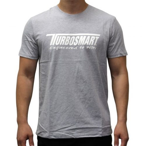 Turbosmart Grey Basic Logo T-Shirt