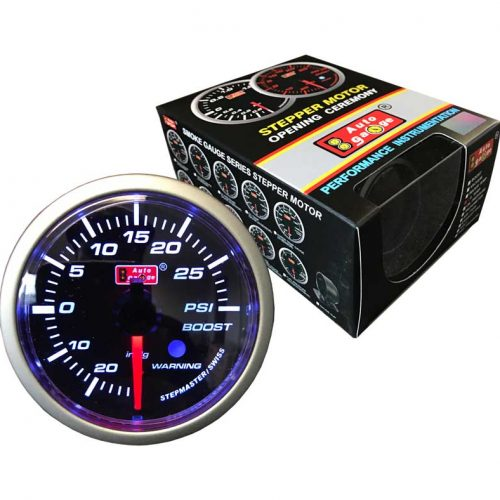 AUTOGAUGE Boost Gauge STEPPER Series II