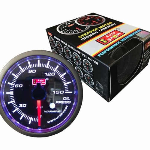 AUTOGAUGE Oil Pressure Gauge STEPPER Series II