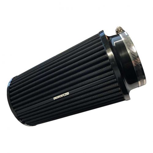 "AEROFLOW Universal Air Filter 4"" (102mm) Inlet & 9"" (229mm) Long"