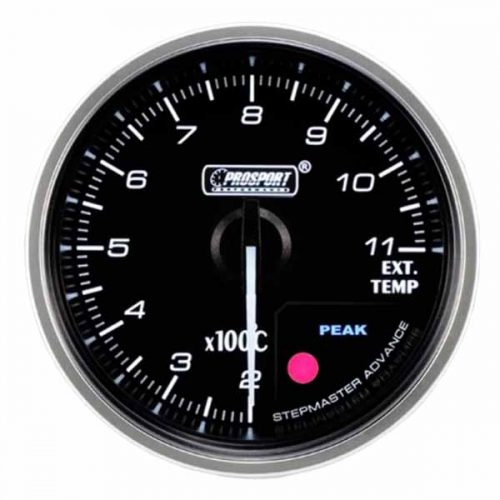 PROSPORT EXHAUST TEMP GAUGE 60MM SUPREME SERIES